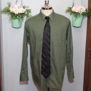 Pierre Cardin long sleeved dress shirt